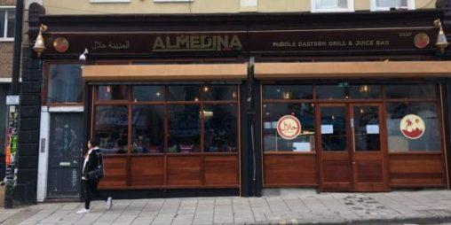 Almedina Grill front shop