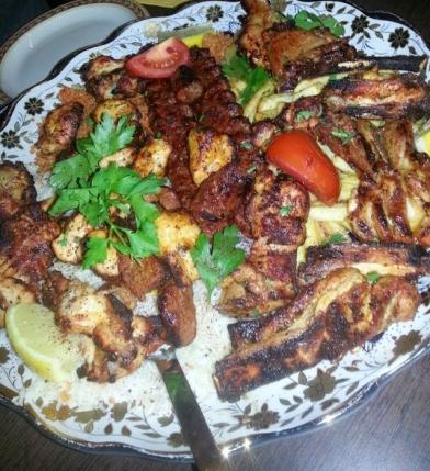 Lona food platter