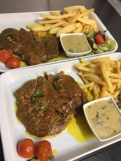 Taz Gourmet Grill steak