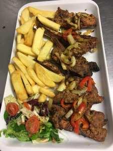 Tazs grill platter