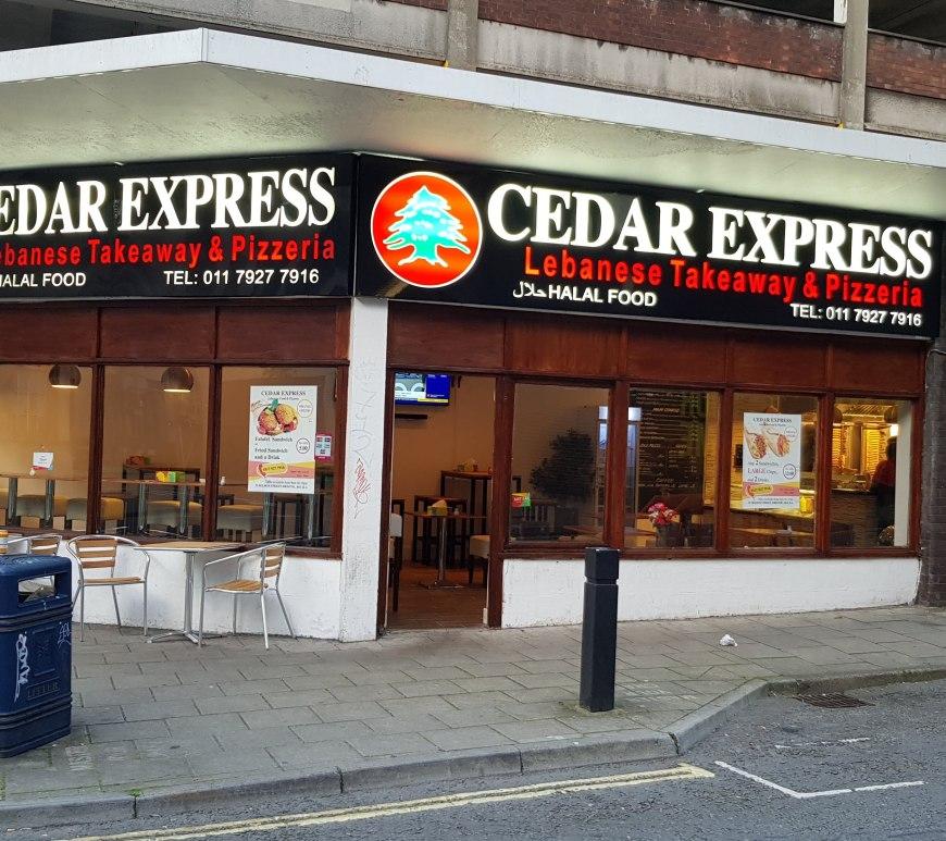 Cedar express nelson st