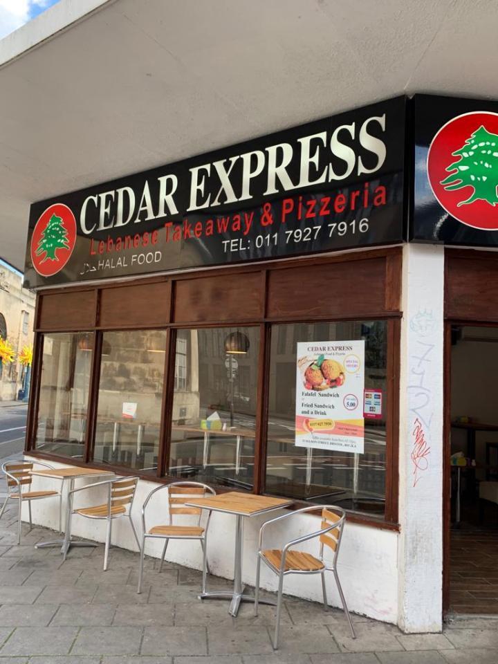 outside cedar express